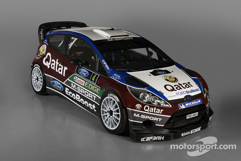Qatar M-Sport team unveils new Ford Fiesta RS WRC