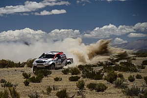 Dakar Stage report Trouble-free run for De Villiers and Von Zitzewitz on 7th stage