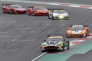 Endurance Race report Mücke pleased with third at the 24 hours of Dubai