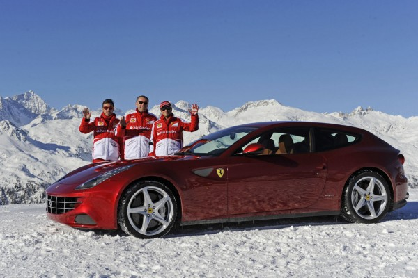 Wrooom 2013  Scuderia Ferrari reigns on the ice - video