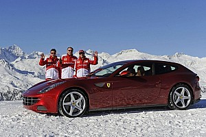 Formula 1 Special feature Wrooom 2013 – Scuderia Ferrari reigns on the ice - video