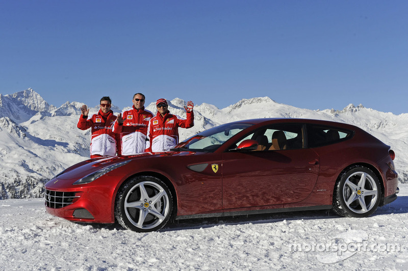 Wrooom 2013 – Scuderia Ferrari reigns on the ice - video