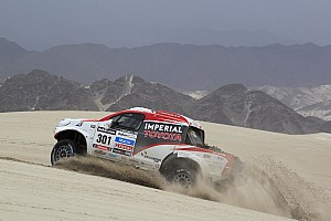 De Villiers and Von Zitzewitz finish second in Dakar Rally
