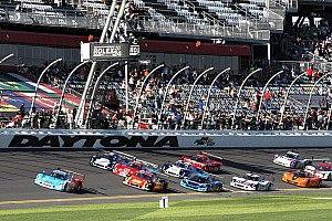 Trouble comes early in the Rolex 24 at Daytona