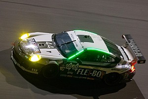 Grand-Am Race report Porsches finish fifth, sixth, tenth at Rolex 24 GT
