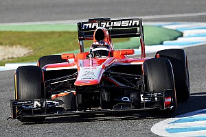 Formula 1 Testing report After new car release, Marussia started 2013 pre-season testing
