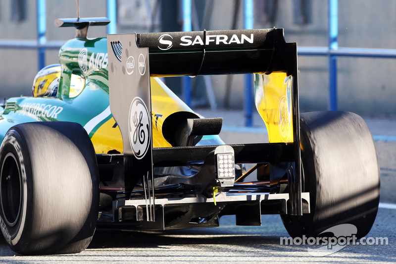 Pic and Caterham put in laps during day three of Jerez testing