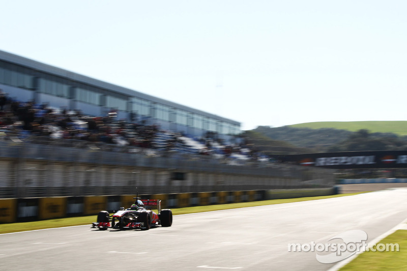 McLaren drivers pleased with 2013 car during initial tests in Jerez