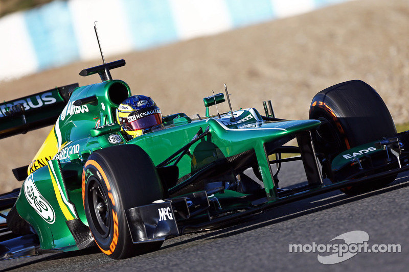 Caterham complete first test with 109 laps on final day at Jerez