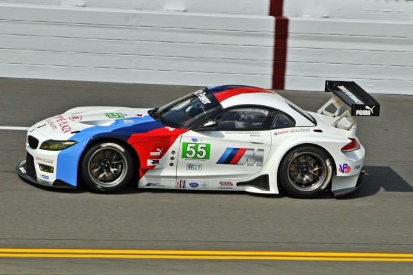 Team RLL enjoy their new BMW Z4 GTE in Daytona