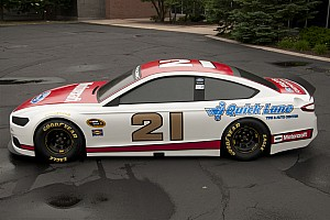 The 2013 Ford Fusion 'stock car' makes its debut at Daytona
