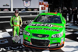 NASCAR Sprint Cup Qualifying report Patrick makes history by grabbing Daytona 500 Pole