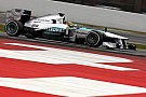 Hamilton ends Barcelona's first round of testing with fastest time 
