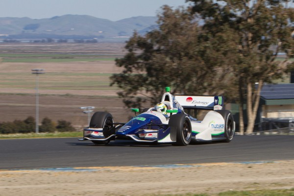 Drivers have good testing day at Sonoma