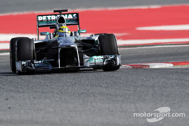 Rosberg closes out preseason testing on top in Barcelona