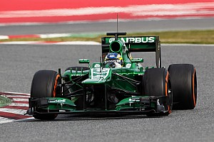 Caterham's Pic quote about day 4 in Barcelona