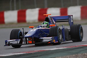 GP2 Testing report Daly impressive top 10 in Barcelona testing
