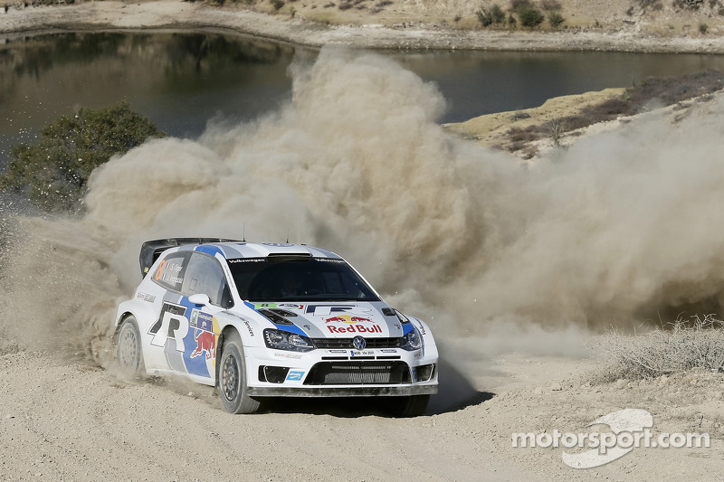 Ogier takes charge to hold the early lead in Rally Mexico