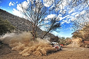 WRC Leg report Mikko Hirvonen in the thick of it on Rally Mexico