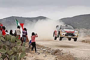 WRC Leg report Citroen's Hirvonen sits second heading into final day of Rally Mexico