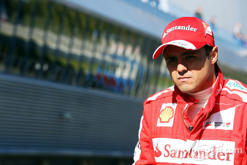 Ferrari's Massa in Brazil on eve of season