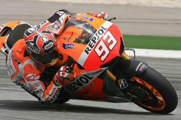 Marquez the main man in Texas MotoGP test
