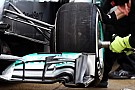 Report - active suspension the key to Mercedes' speed