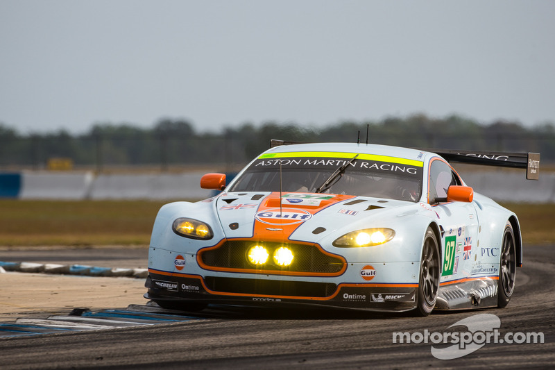 Aston Martin qualifies in third and fourth at Sebring