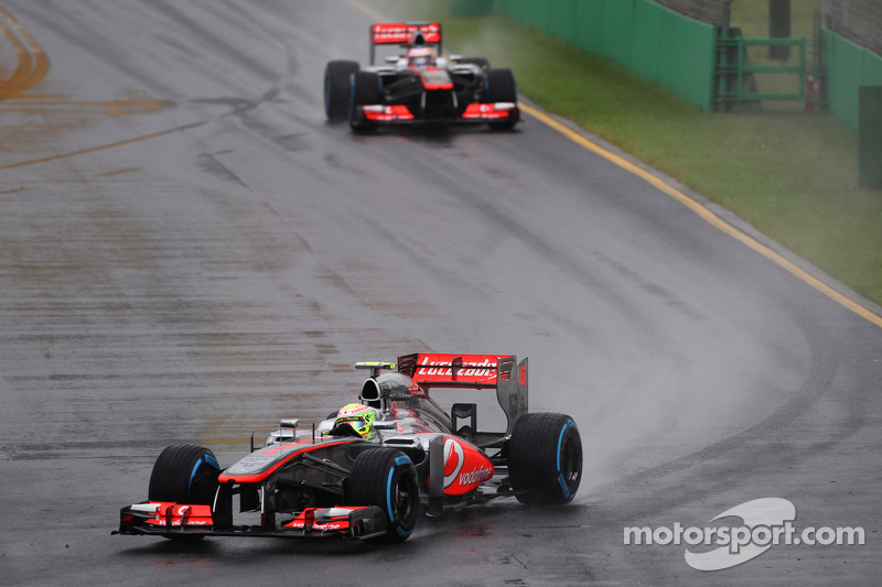 A tough day for McLaren in a rain interrupted qualifying for Australian GP