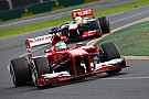 Ferrari accomplished its first objective on Australian GP