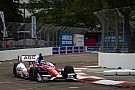 AJ Foyt Racing's Sato ended fifth in Friday practice on the streets of St. Pete