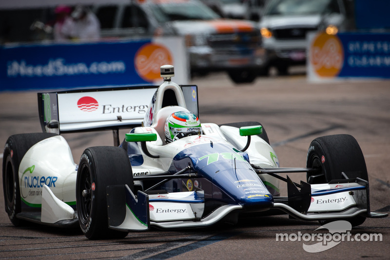 De Silvestro will start third at St. Pete while Kanaan slots 11th for season opener