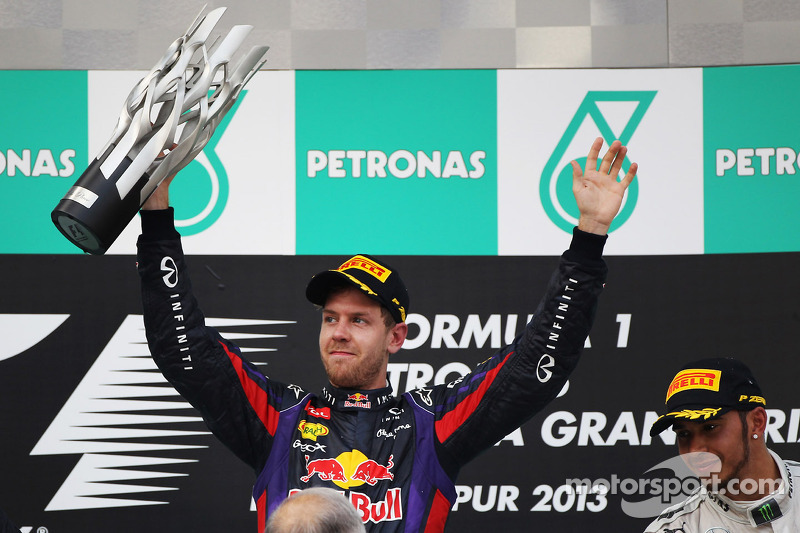 Vettel uses three Pirelli compounds to claim Malaysia victory