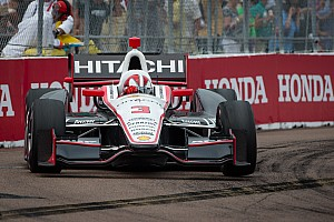 Team Penske showed a strong presence in St. Pete