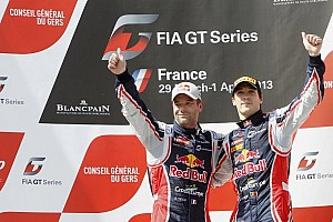 Blancpain Sprint Race report Sébastien Loeb and Alvaro Parente take qualifying race win at Nogaro