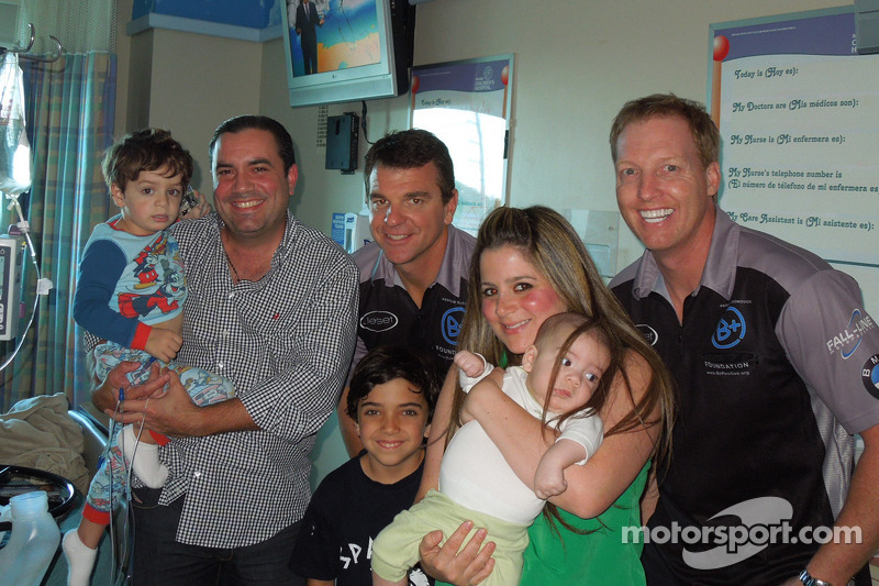 B+ Racing drivers Carter and Plumb hepe to raise funds for children with cancer