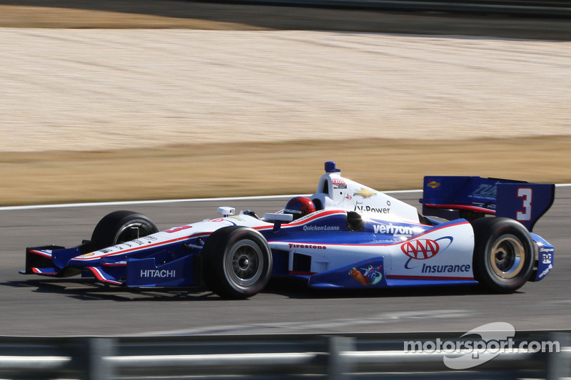 Castroneves tops opening day of preparations at Barber