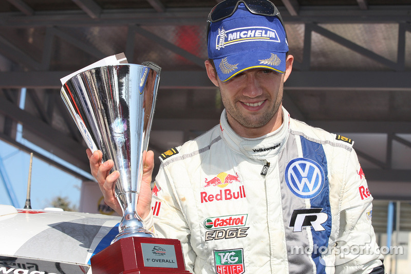 Third win of the season for Volkswagen's Ogier - Video