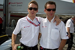 Timo Bernhard and Romain Dumas in the Porsche LMP1