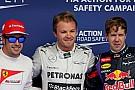 Pole-position for Mercedes AMG Petronas driver Nico Rosberg at Bahrain
