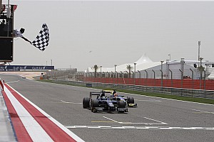 GP2 Race report Sam Bird takes first win for new team Russian in Bahrain