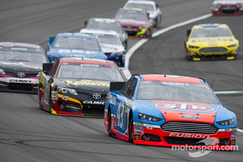 Richard Petty Motorsports is top-10 with Almirola in Kansas