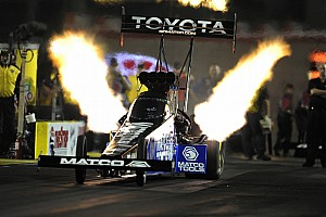 NHRA Qualifying report Brown leads DSR in Top Fuel class near Houston in Friday qualifying