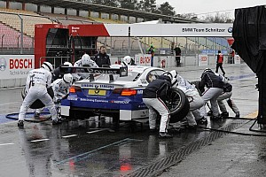 New for the fans at Hockenheim: Pit stop practice up close