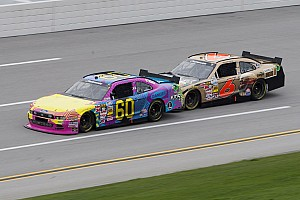 Bayne unable to avoid the 'big one' at Talladega