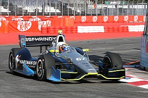 Newgarden posts career best finish in Brazil