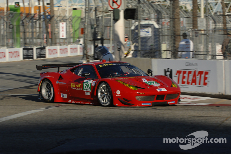 Risi Competizione attention now turns to the second of the two Californian rounds