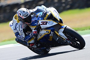 Melandri flies his BMW to the top of Friday qualifying at Monza