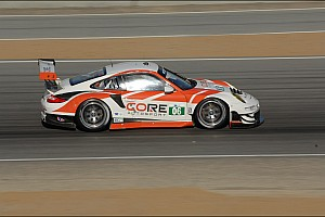 ALMS Qualifying report Long puts Porsche second on GT grid and Braun scores PC pole at Laguna Seca