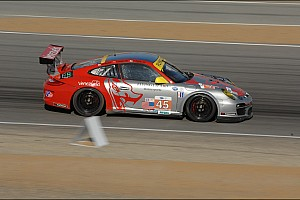 ALMS Qualifying report Flying Lizard qualifies 4th and 6th at Laguna Seca
